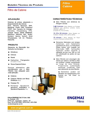 ELEMENTOS DO AR - CABINES - ENGEMAI